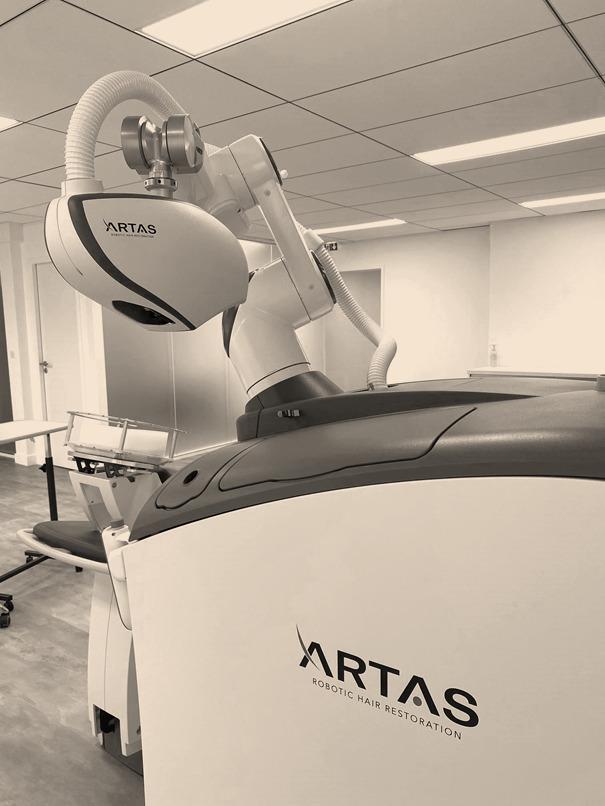 artas robot microgreffes cheveux capillaire bordeaux clinique esthetique aquitaine