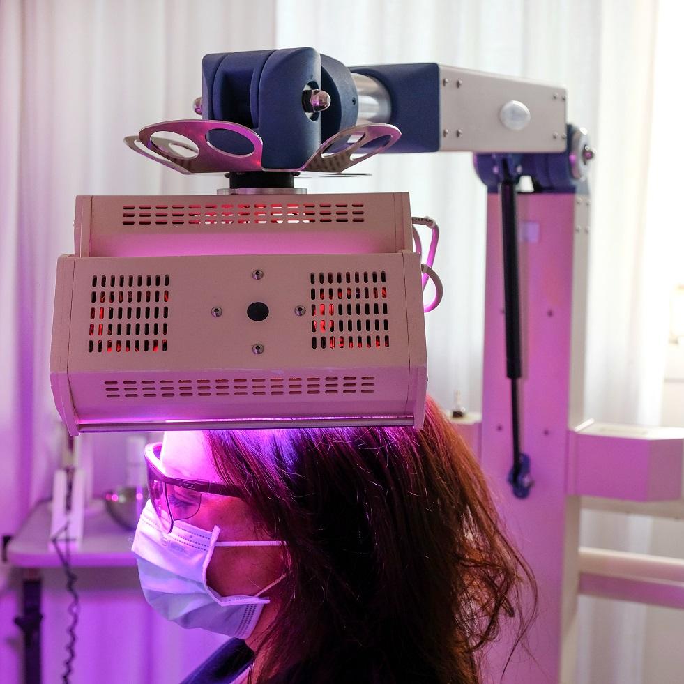 traitement anti chute bordeaux luminotherapie Clinique Esthetique Aquitaine